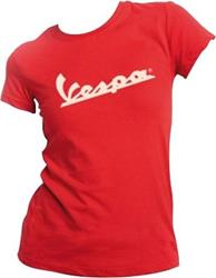 VESPA DAMEN T-Shirt rot XL