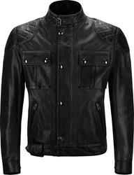 BELSTAFF BROOKLANDS Textiljacke 8.Wax schwarz XL/52