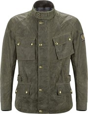 BELSTAFF CROSBY Textiljacke Soywax 6 british racing green L