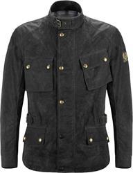 BELSTAFF CROSBY Textiljacke Soywax 6 schwarz 3XL