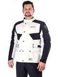 BERING ROY Gore-Tex Textiljacke hellgrau/schwarz L