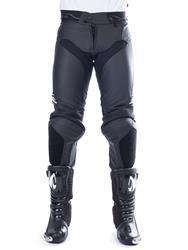 MACNA LIGHTNING Lederhose schwarz lang 50