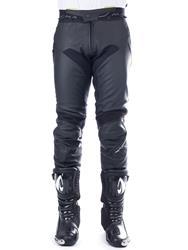 MACNA COMMUTER Lederhose schwarz lang 48