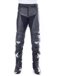 IXON FUELLER Lederhose schwarz/weiss XL