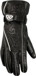 IXON RS FANCY Leder Damenhandschuh schwarz XL