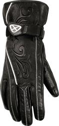 IXON RS FANCY Leder Damenhandschuh schwarz XXL