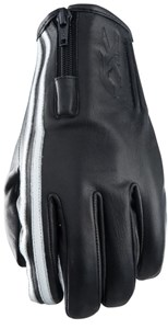 Bild von FIVE FX ZIPPER VINTAGE Handschuh schwarz/weiss L