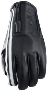 Bild von FIVE FX ZIPPER VINTAGE Handschuh schwarz/weiss M