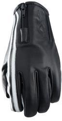 FIVE FX ZIPPER VINTAGE Handschuh schwarz/weiss XS