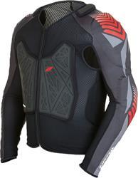 ZANDONA SOFT ACTIVE X8 Protektorenhemd schwarz M