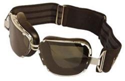BARUFFALDI 259 Brille schwarz/chrom 105131 klares+grünes Glas