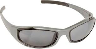 Bild von BARUFFALDI TAEG Brille anthrazit mit l.get/getöntes/silb. versp. Glas