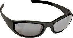 BARUFFALDI TAEG Brille schwarz mit l.get/getöntes/silb. versp. Glas