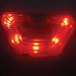 MACNA VISION LED LIGHT rot mit USB-Kabel