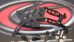Bild von EVOTECH ESTR-0901 KTM 690Duke/Supermoto/R ´07-´11 Kennzeichenhalter öster. schwarz
