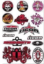 ICON DECAL Stickerkit