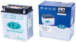 Landport Batterie m.Säurepack YB12A-A