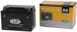 LANDPORT Gelbatterie YTZ14-S