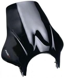 Bild von PUIG Windschild PLUS schwarz h. 420mm x b. 405mm