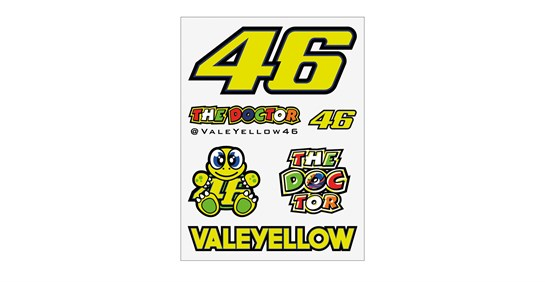 VR46 STICKERS Small