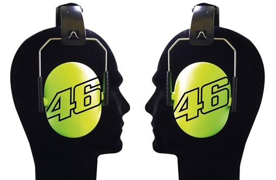 VR46 KIDS EAR MUFFS