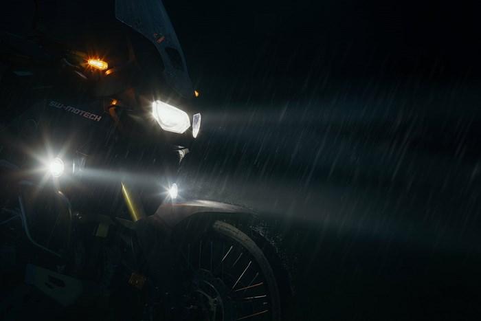 EVO Nebelscheinwerfer-Kit. Schwarz. Honda VFR 1200 X Crosstourer (11 ...
