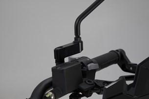 Bild von Spiegelverlängerung. Schwarz. Max. Verlegung: 40 mm. Yamaha/KTM/Ducati.