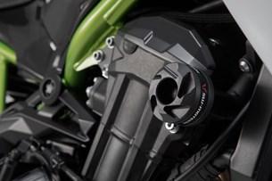 Bild von Sturzpad-Kit. Schwarz. Kawasaki Z900 (16-) / Z900RS (17-).