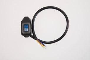 Bild von EVO Fernlicht-Schalter für Cockpit. Für Fernscheinwerfer. Blau leuchtend.