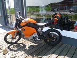 Super Soco Adrenaline Orange