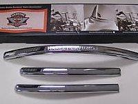 XL FXD FXR FXSTS Engraved Windshield Trim