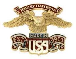 Made in USA Large Eagle Medallion