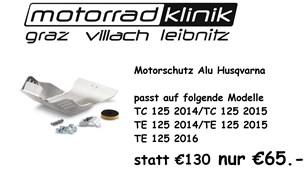 Bild von Motorschutz ALU Husqvarna statt €130.- nur €65 .- TC 125 2014/TC 125 2015/TE 125 2014/TE 125 2015/TE 125 2016