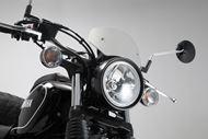 SW-MOTECH Windschild. Silbern. Yamaha SCR 950 (16-).