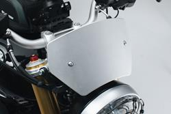Windschild. Silbern. BMW R nineT (14-).