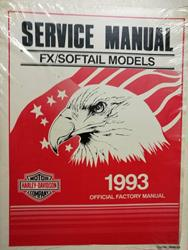 FX / Softail 1993 Service Manual