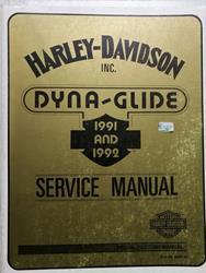 Dyna Glide 1991 1992 Service Manual