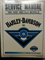XLH 1991 1992 Service Manual