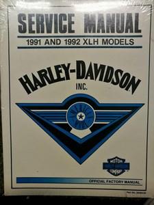Bild von XLH 1991 1992 Service Manual