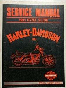 Bild von Dyna Glide 1991 Service Manual