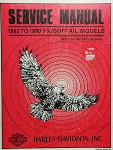 Bild von FX / Softail 1985 - 1990 Service Manual