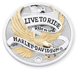 Live to Ride Logo Time Cover