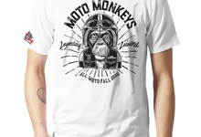 T-Shirt 1000PS MOTO MONKEYS