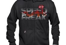 Hooded Zipper Sweat 1000PS SPEED FREAK