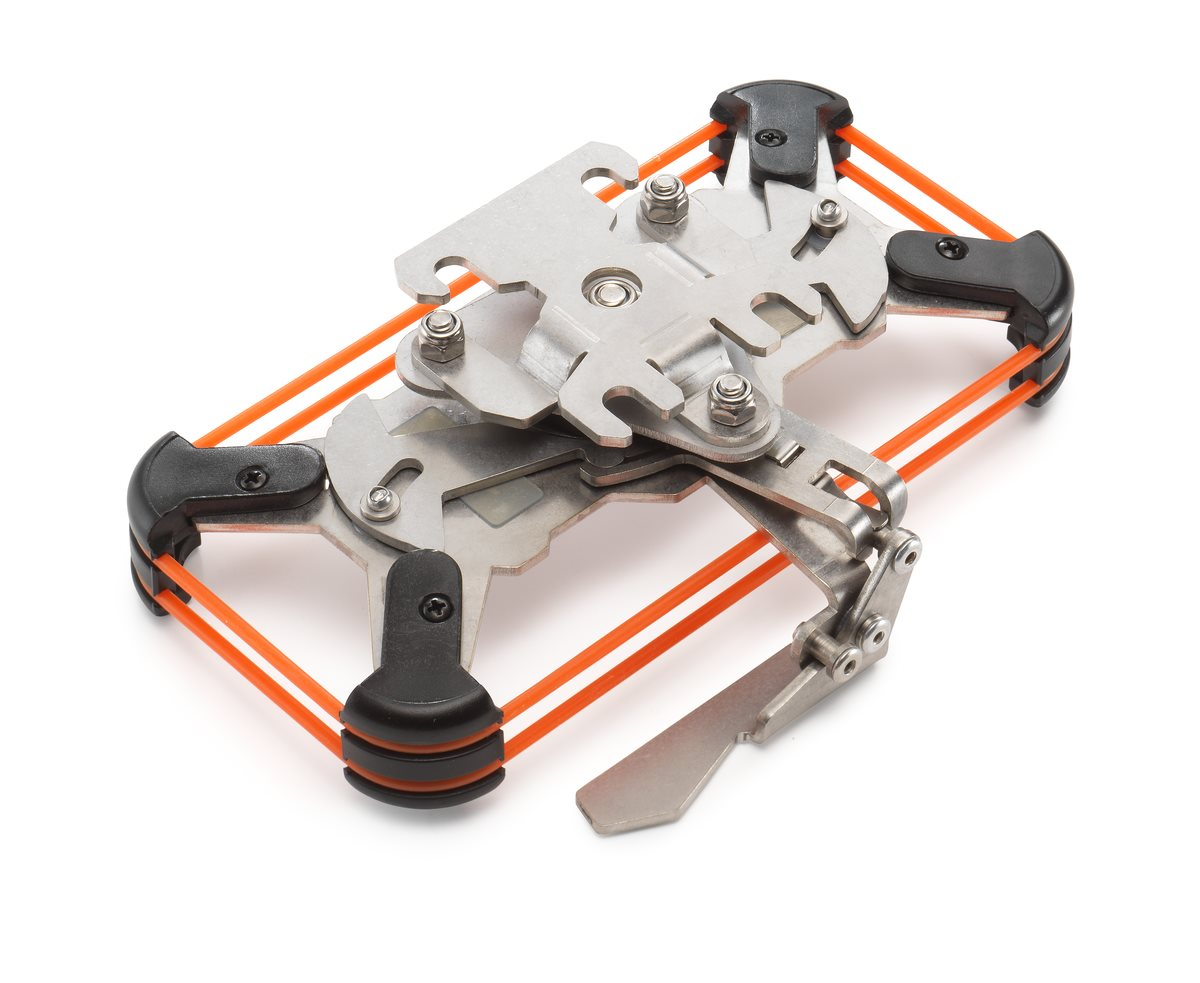 Soporte de manillar iBracket de Touratech para el iPhone 6/7/8