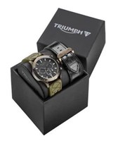 Genuine Triumph Mens Watch Gift Set MWSA16210