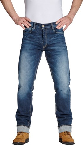 ROKKER Iron Selvage Washed Jeans
