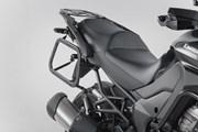 EVO Kofferträger. Schwarz. Kawasaki Versys 1000 (15-).