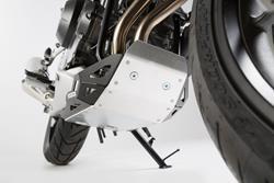 Motorschutz. Schwarz/Silbern. Honda CB500X (13-18).