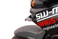SW-MOTECH Scheinwerfer-Halter. Schwarz. Suzuki DL1000/650. Kawasaki KLV1000.